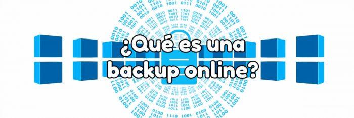 ¿Qué es una backup online?