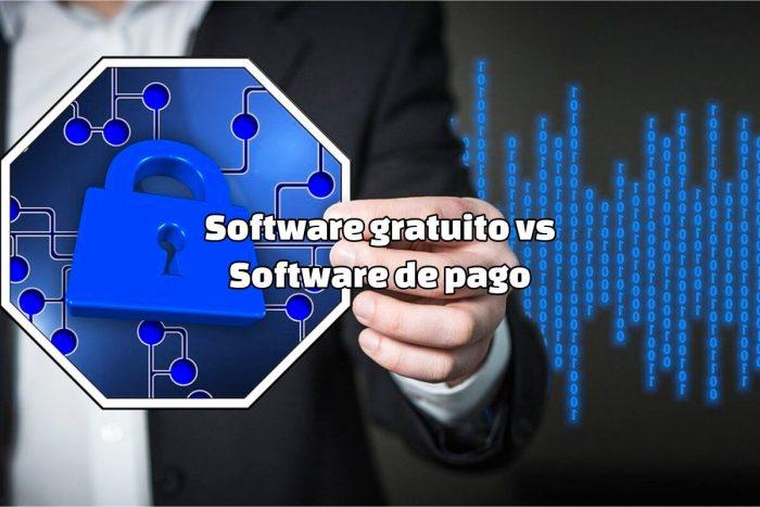 Software gratuito vs Software de pago